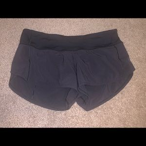 Lulu Lemon Speed Shorts